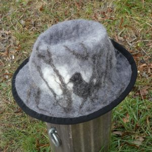 borsalino gris en laine
