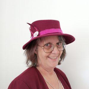 chapeau amazone porté